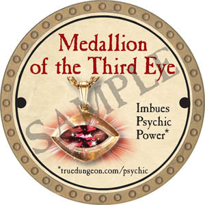 Medallion of the Third Eye - 2017 (Gold)