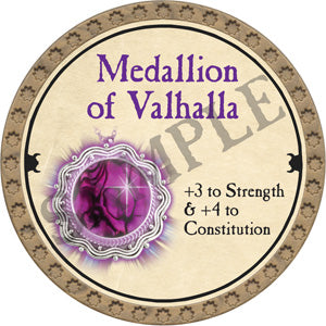 Medallion of Valhalla - 2018 (Gold)