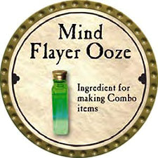 Mind Flayer Ooze - 2008 (Gold) - C37