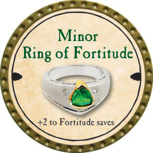 Minor Ring of Fortitude - 2014 (Gold)