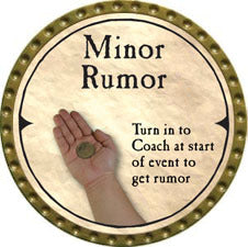Minor Rumor (C) - 2007 (Gold) - C37