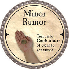 Minor Rumor (C) - 2007 (Platinum)
