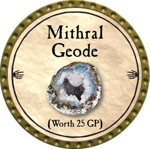 Mithral Geode - 2012 (Gold)