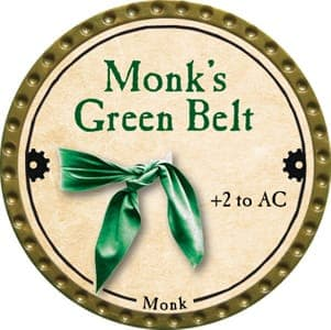 Monk's Green Belt - 2013 (Gold)