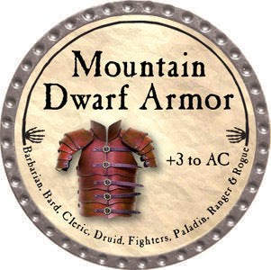 Mountain Dwarf Armor - 2012 (Platinum)