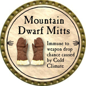Mountain Dwarf Mitts - 2012 (Gold)
