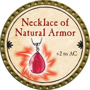 Necklace of Natural Armor - 2015 (Gold)