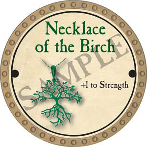Necklace of the Birch - 2017 (Gold)