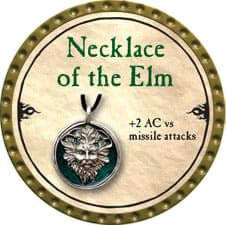 Necklace of the Elm - 2010 (Gold)
