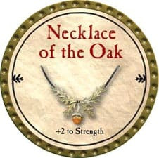 Necklace of the Oak - 2009 (Gold)