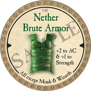Nether Brute Armor - 2019 (Gold) - C37