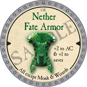 Nether Fate Armor - 2019 (Platinum)
