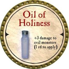 Oil of Holiness - 2007 (Gold)