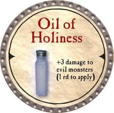 Oil of Holiness - 2007 (Platinum) - C37