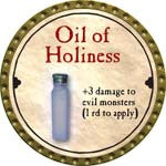 Oil of Holiness - 2008 (Gold)