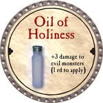 Oil of Holiness - 2008 (Platinum) - C37