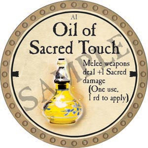 Oil of Sacred Touch - 2020 (Gold)