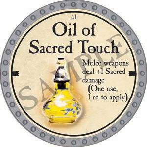 Oil of Sacred Touch - 2020 (Platinum)
