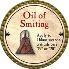 Oil of Smiting - 2009 (Gold)