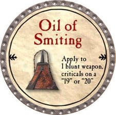 Oil of Smiting - 2009 (Platinum)