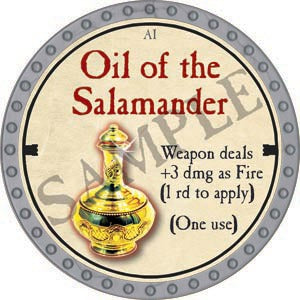 Oil of the Salamander - 2020 (Platinum)