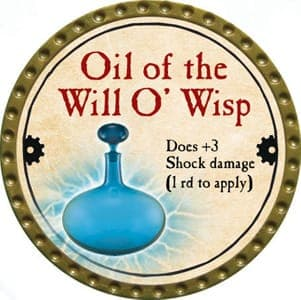 Oil of the Will O' Wisp - 2013 (Gold) - C37
