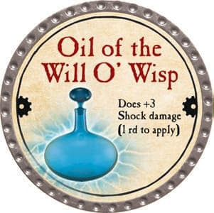 Oil of the Will O' Wisp - 2013 (Platinum) - C37