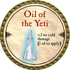 Oil of the Yeti - 2010 (Gold)
