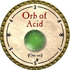 Orb of Acid - 2009 (Gold)