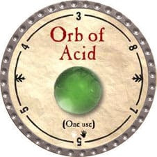 Orb of Acid - 2009 (Platinum)