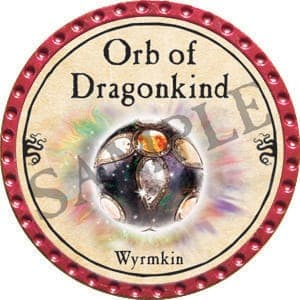 Orb of Dragonkind (Wyrmkin) - 2016 (Red) - C31
