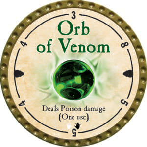 Orb of Venom - 2014 (Gold)