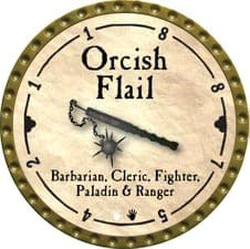 Orcish Flail - 2008 (Gold) - C49