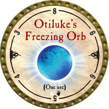 Otiluke's Freezing Orb - 2010 (Gold)