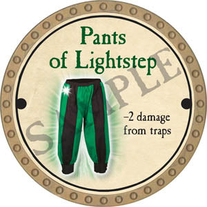 Pants of Lightstep - 2017 (Gold) - C58