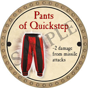 Pants of Quickstep - 2017 (Gold) - C37