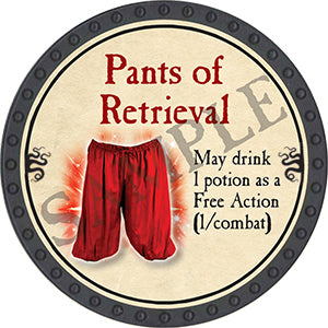 Pants of Retrieval - 2016 (Onyx) - C44