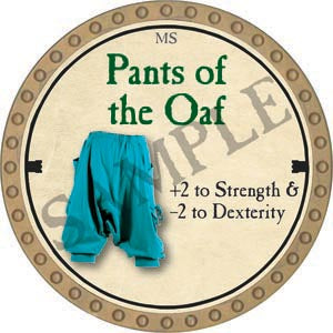 Pants of the Oaf - 2020 (Gold)