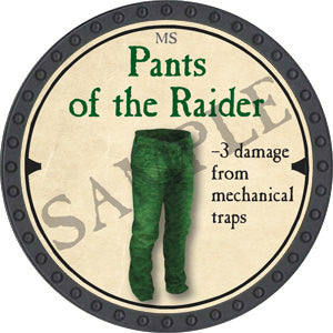 Pants of the Raider - 2019 (Onyx) - C37