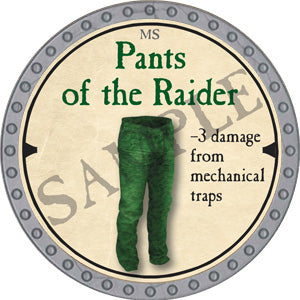 Pants of the Raider - 2019 (Platinum)