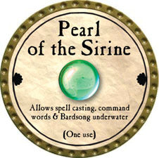 Pearl of the Sirine - 2011 (Gold)