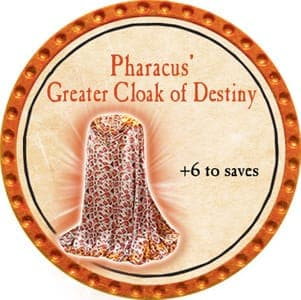 Pharacus' Greater Cloak of Destiny - 2013 (Orange) - C1