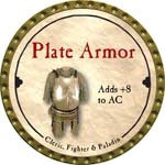 Plate Armor - 2008 (Gold)