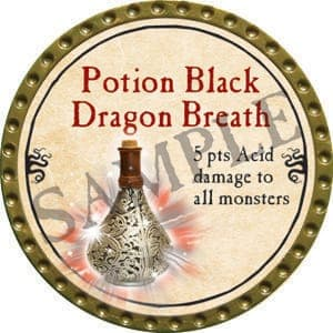 Potion Black Dragon Breath - 2016 (Gold)