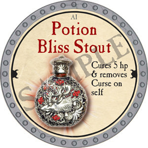 Potion Bliss Stout - 2018 (Platinum)