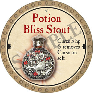 Potion Bliss Stout - 2018 (Gold)
