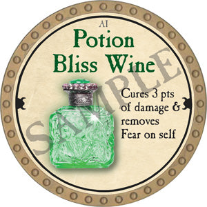 Potion Bliss Wine - 2018 (Gold)