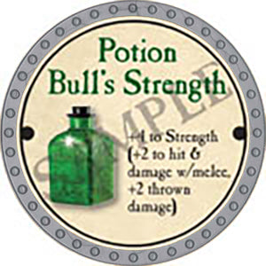 Potion Bull's Strength - 2017 (Platinum)