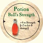 Potion Bull's Strength - 2006 (Wooden) - C37