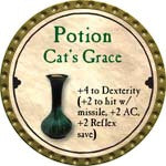 Potion Cat's Grace - 2008 (Gold)